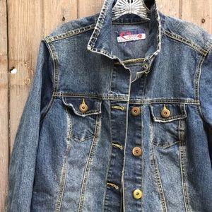 Vintage SWAK Jeans Jacket XL